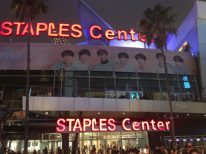 BTS Concert at the Staples Center